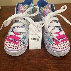 Light up Girls Shoes